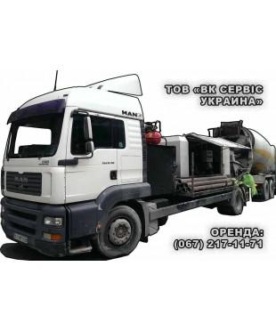 Стационарный бетононасос мощностью 50-70 м3, бетоновод до от 80 до 100 м.