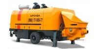 Стационарный бетононасос мощностью 20-40 м3, бетоновод до 80 м., высота 0-4 этаж, минимальный заказ - 2 часа.