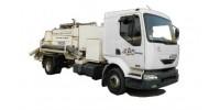 Мобильный бетононасос мощностью 50-70 м3, бетоновод до 60 м., керамзитобетон