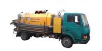 Мобильный бетононасос мощностью 50-70 м3, бетоновод до от 80 до 100 м.