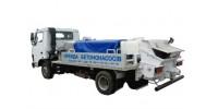 Мобильный бетононасос мощностью 20-40 м3, бетоновод до 80 м. и высота подачи 0-4 этаж. МИНИМАЛКА 2 ЧАСА.