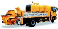Мобильный бетононасос мощностью 50-70 м3, бетоновод от 80 до 100 м., высота 0-4 этаж. МИНИМАЛКА - 2 ЧАСА