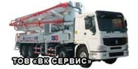 Автобетононасос Hongda HDT42/4 (АБН42), МАШИНО-СМЕНА - 8 ЧАСОВ.