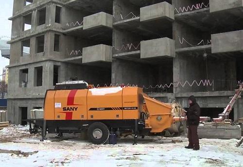 аренда стационарного бетононасоса киев